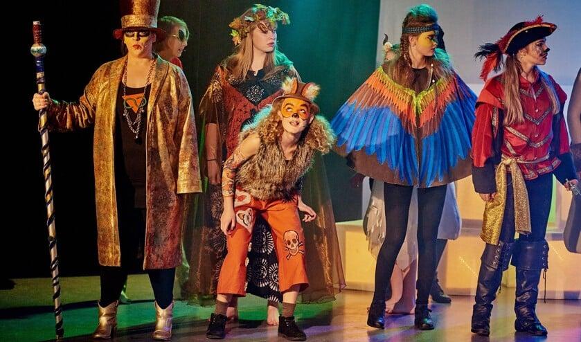 Ook de musical 'Enigami' werd door Up2Stage zelf geschreven en gespeeld. | Foto: archief/pr./René van Dam