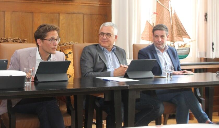 Wethouder Sjaak van den Berg moet opnieuw uitleg geven over de strenge aanpak van snippergroen. | Foto: WS
