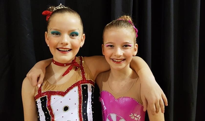 Lily Meijvogel en Naomi Hoppenbrouwer waren de jongsten van het stel en kwamen uit in de juvenile kampioensklasse.