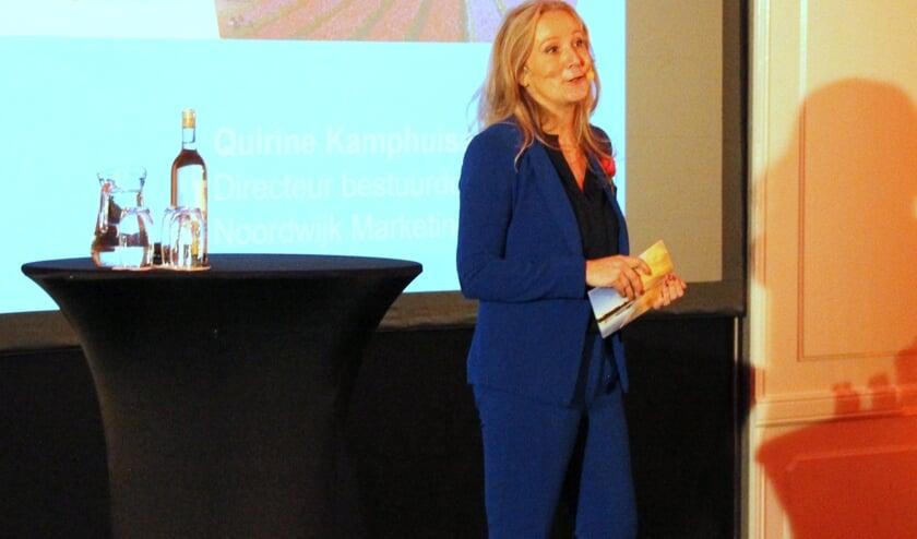 Marketing Directeur Quirine Kamphuisen is verheugd dat Noordwijk de badstatus zal verwerven. | Foto: WS