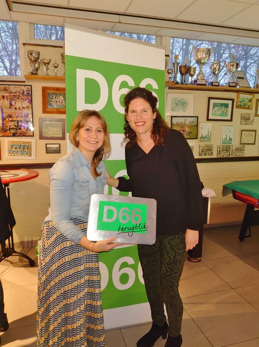 Vrijwilliger van het jaar 2019 D66  © uitgeverij Verhagen