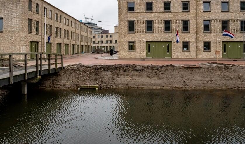 De koopwoningen in het nieuwbouwwijkje Bij de Zijl worden nu opgeleverd.