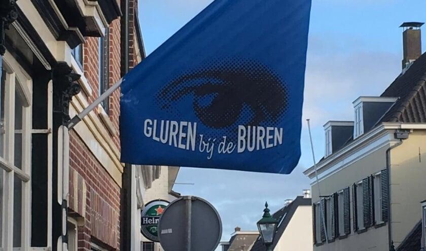 <p>Tijdens Gluren bij de Buren wordt de Dorpsstraat omgetoverd tot een lange pop-up galerie.   Foto: pr.&nbsp;</p>
