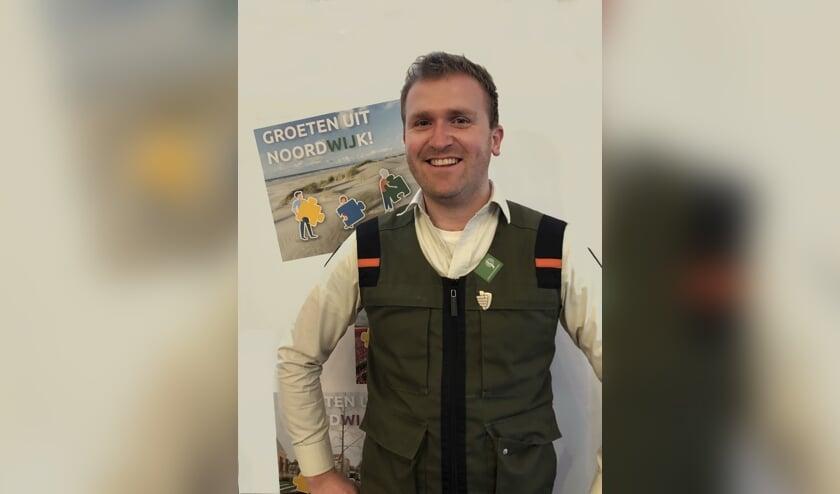 Boswachter Joël Haasnoot: 'Groene ruimte, voor mens en natuur'.   Foto: PR