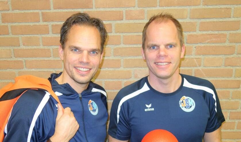 Frank (l) en René (r) van Wieringen strijden tegen beweegarmoede bij jonge kinderen.