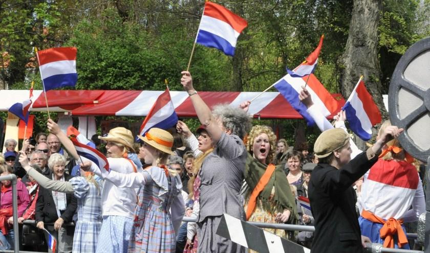 75 jaar Vrijheid wordt dit jaar uitbundig gevierd. Vrijheid is ook het thema van de schrijfwedstrijd. | Foto: archief KP/Frans Roomer