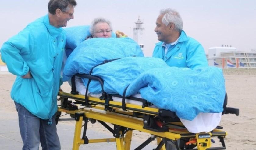 Stichting Ambulance Wens vervult wensen van terminale patiënten. | Foto: pr