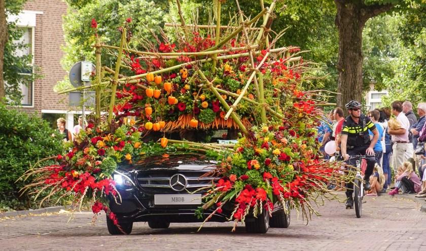 Flower Parade Rijnsburg in de toekomst Immaterieel Cultureel Erfgoed UNESCO? | Foto: Treffend Beeld