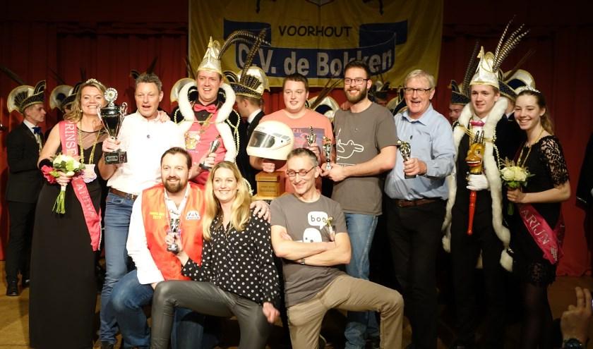 Jan Piet Does won vorig jaar het Kuipzwammen. Zijn zoon Timo won de publieksprijs. | Foto: archief