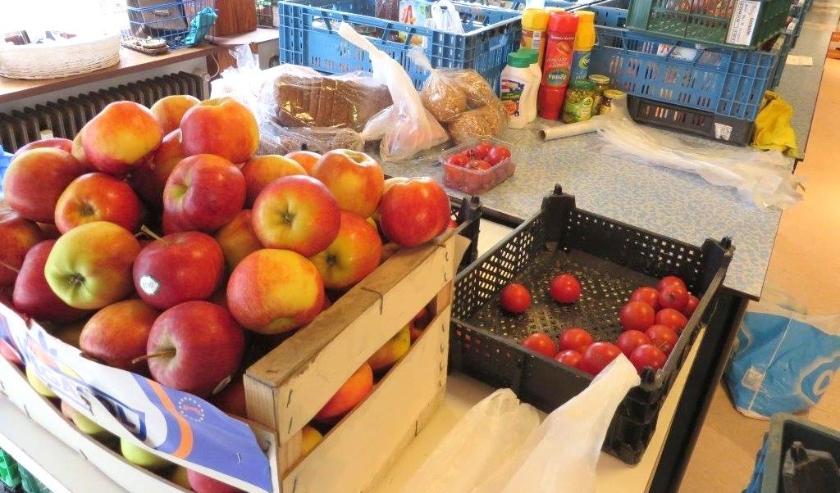 Naast zuivelproducten zijn ook groenten en fruit onderdeel van een wekelijks af te halen pakket. | Foto: WS