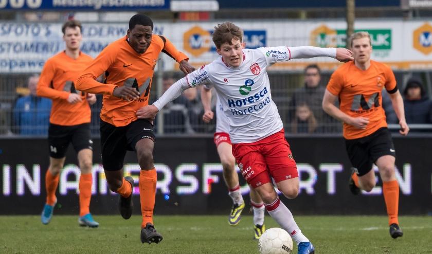 Marc de Kruijs breekt uit. | Foto: OrangePictures/Raymond Smit