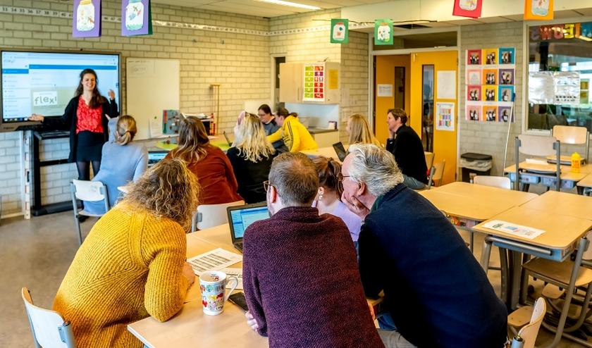 Het team van OBS De Hobbit is druk bezig met het samenstellen van een digitaal lesprogramma.