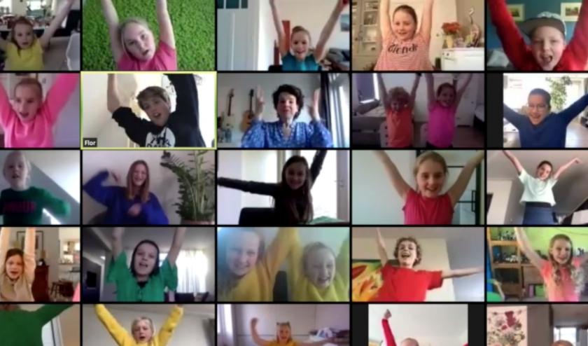 De Kleynkoor Academy lanceerde het Kinderbevrijdingslied voor de Kinderaubade op 5 mei. | Foto: PR