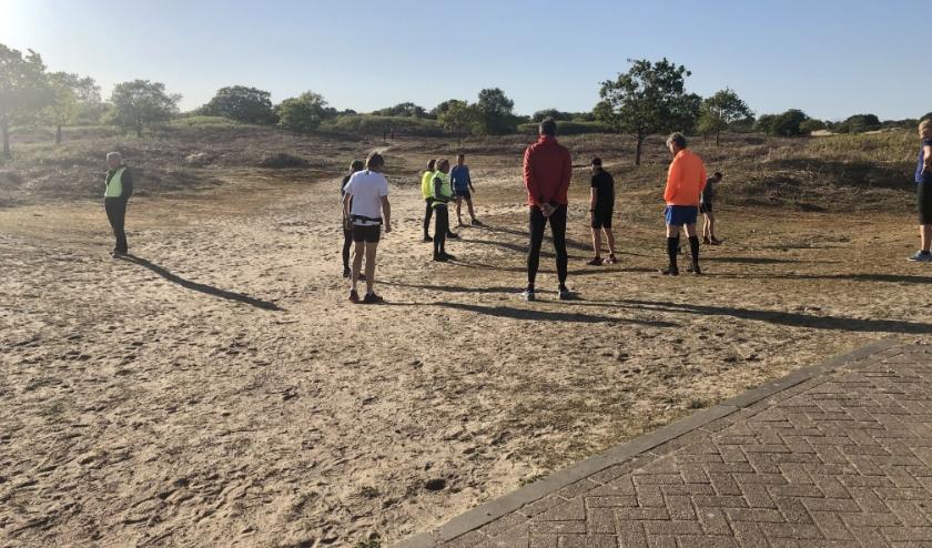 Trainingen gebeuren met inachtneming van 1,5 meter afstand.