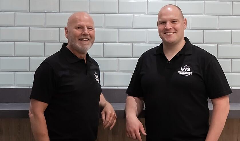Met 'Vis vanhet Hof' komt een lang gekoesterde wens uit voor Bertus en Bart Bos. | Foto: J.P. Kranenburg