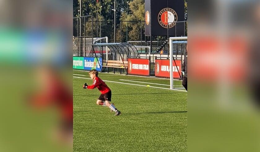Jurre Wildemans vertrekt naar Feyenoord. | Foto PR