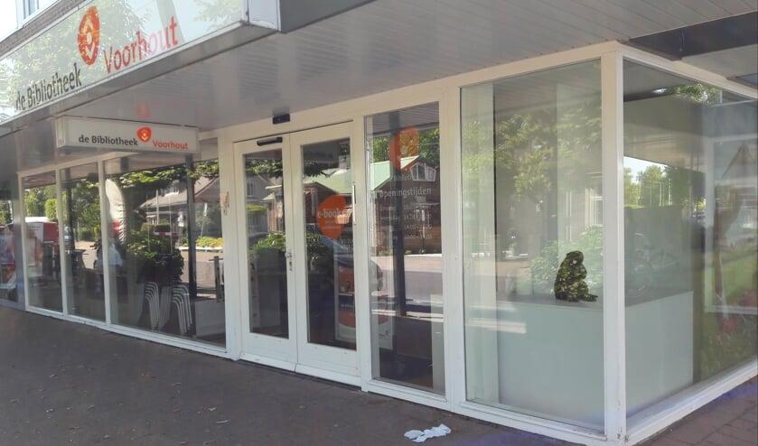 De bibliotheek in de Herenstraat in Voorhout.