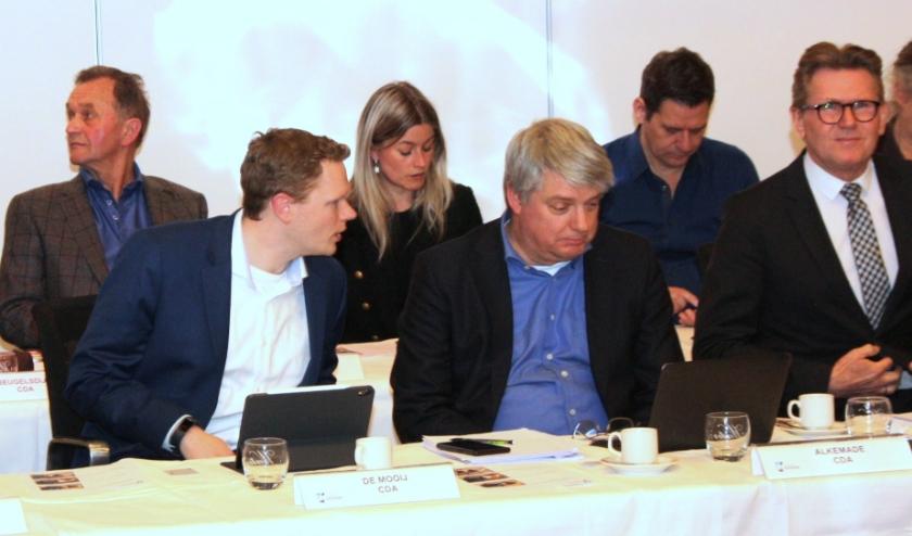 Jordy de Mooij, in de CDA-fractie al de rechterhand van Theo Alkemade, volgt hem op als fractievoorzitter. | Foto: WS