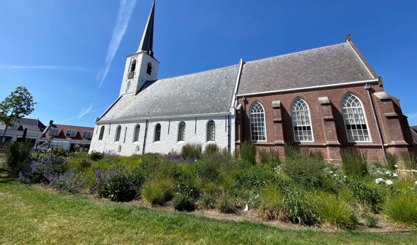 In de Witte Kerk zijn er weer live diensten vanaf 30 augustus. | Foto en tekst: Caroline Spaans