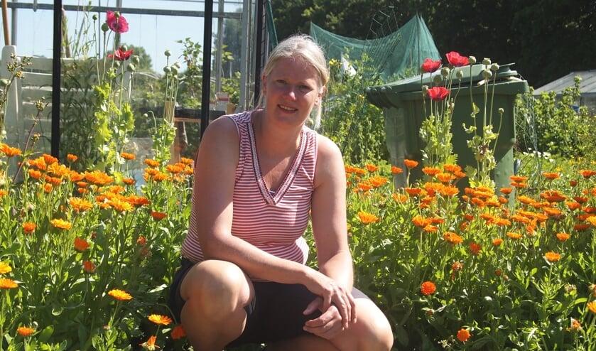 Ingrid Verdegaal begon vorig jaar de Elsgeesterhof. | Foto: pr.