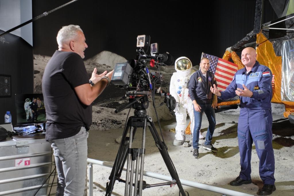 De opnames van de virtuele missie zijn in volle gang. Foto: pr                                                                                                                               © uitgeverij Verhagen