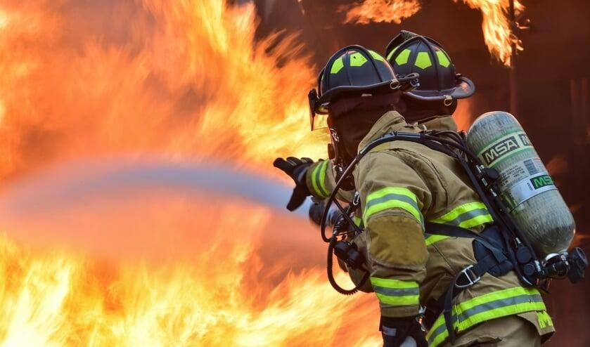 Ieder jaar herdenken de brandweerkorpsen hun omgekomen collega's.