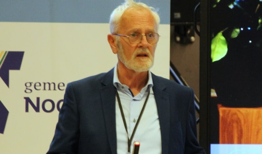 Jaap de Moor vond de houding van wethouder Van den Berg ondermaats. | Foto: WS