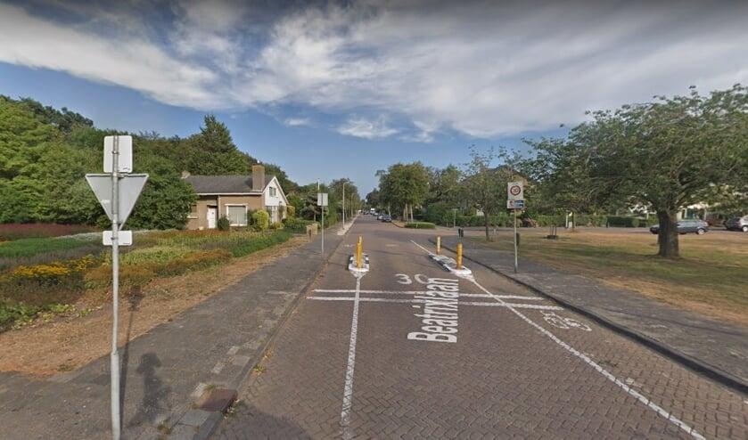 Beatrixlaan, gezien vanaf de Herenweg.