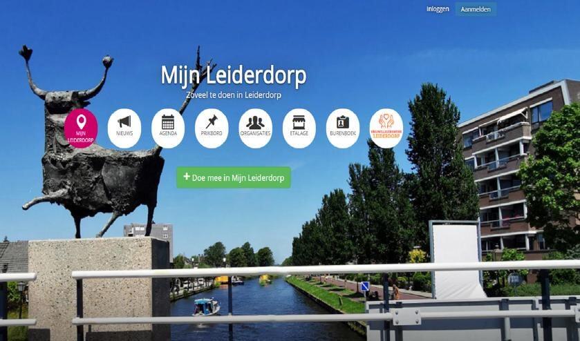 Op MijnLeiderdorp.nl kunnen bewoners en organisaties zichzelf presenteren, activiteiten delen en informatie uitwisselen.