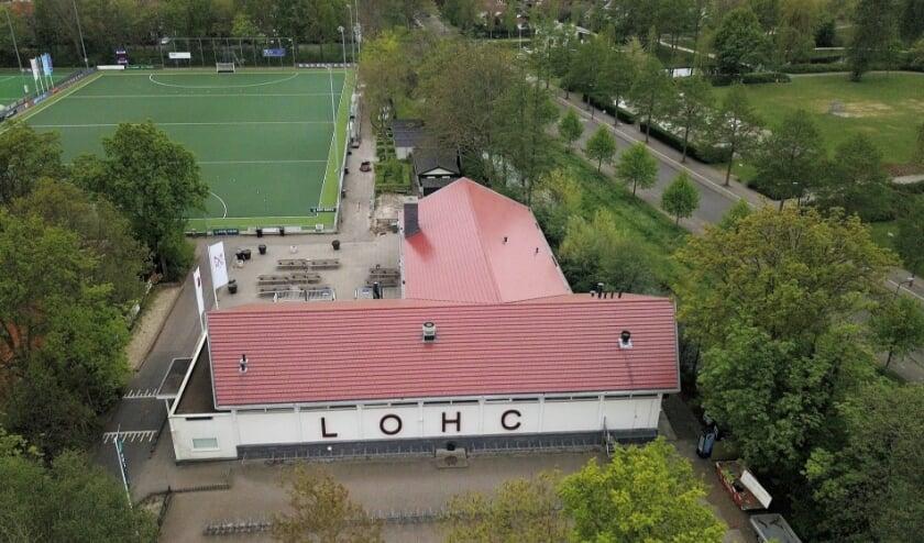 <p>Het clubgebouw van LOHC.</p>
