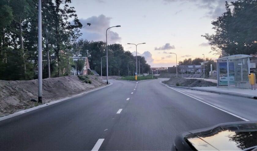 Het uitnodigende nieuwe asfalt op de Biltlaan. | Foto: pr