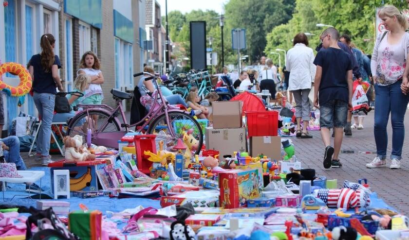 De kinderrommelmarkt is een jaarlijks succes. De 2020-editie wordt een beetje anders van opzet, vanwege de coronamaatregelen.