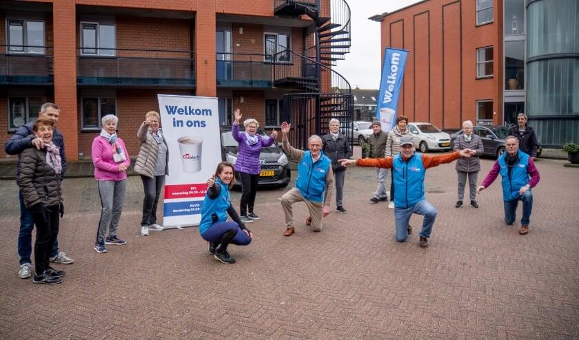 <p>Iedere week wordt een half uurtje BalkonBewegen georganiseerd bij de Brandwacht in Leiderdorp.</p>
