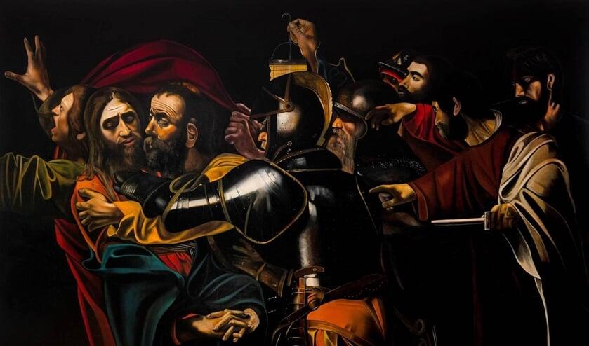 <p>Betrayal of Christ, Cornelis de Koning.</p>