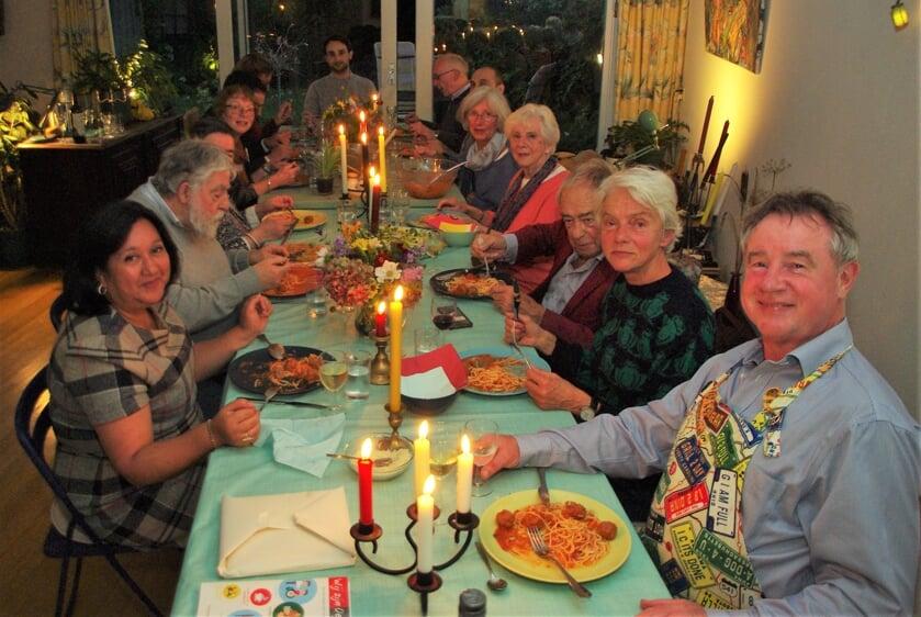 <p>Wessel Eijkman: &lsquo;Liever samen eten dan alleen thuis voor de tv met een bord op schoot.&rsquo;   </p>