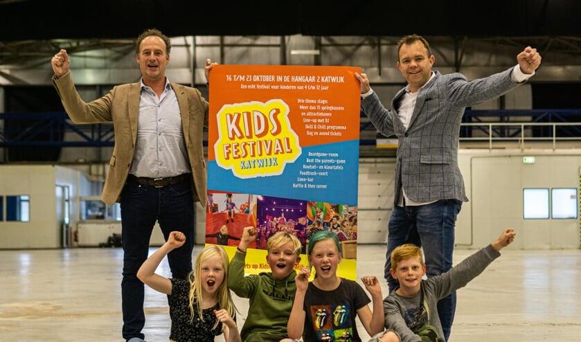 <p>Hangar2 is in de herfstvakantie het decor voor KidsFestival Katwijk. | Foto: PR</p>