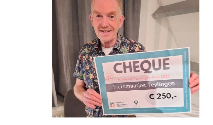 Paul Verbeek van Fietsmaatjes.
