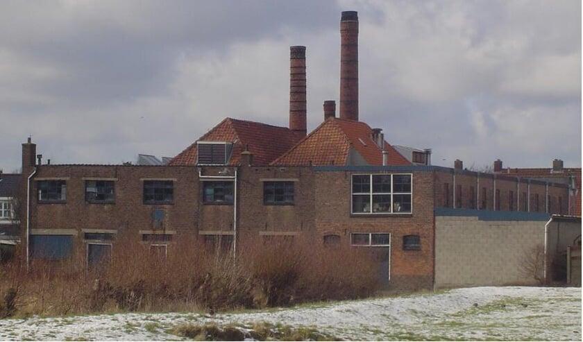 Kleiwarenfabriek Ginjaar in het Leiderdorpse Doeskwartier.   Archieffoto: PR