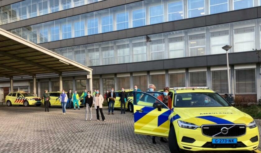 <p><br></p><p>Eind februari trokken prikteams vanuit de coronaspoedpost bij het Alrijne Ziekenhuis Leiderdorp de regio in om kwetsbare mensen in instellingen te vaccineren.&nbsp;</p>