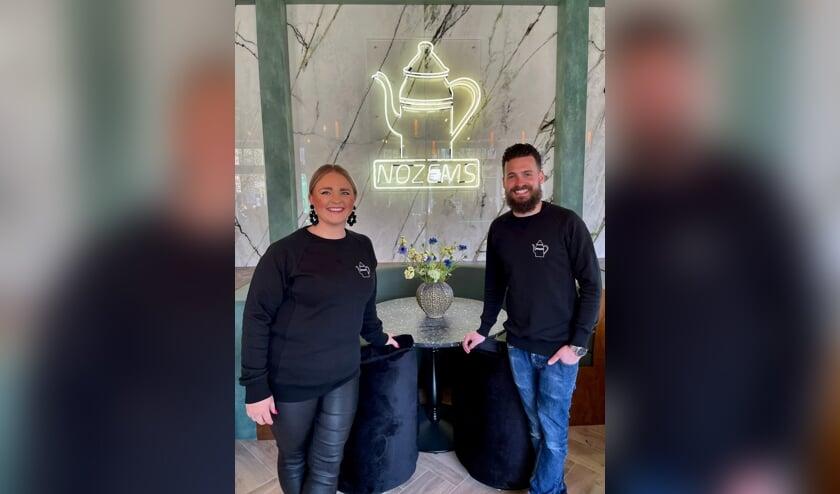 Stephanie en Tommy van den Berg zijn blij dat klanten nu echt kennis kunnen maken met Nozems. | Foto: pr.