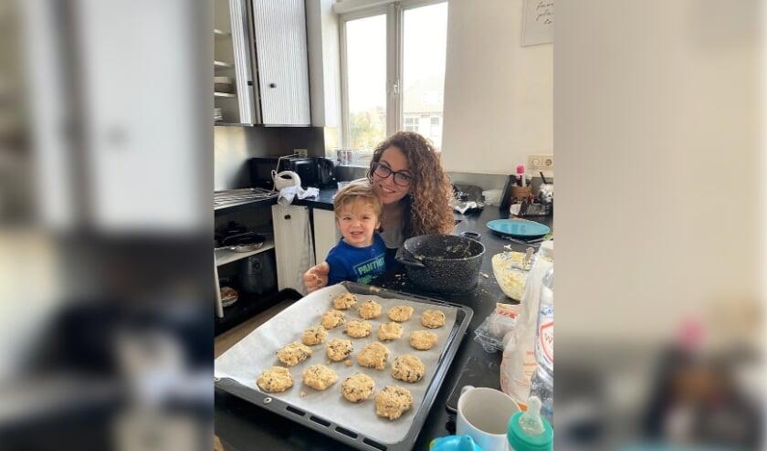 <p>Rosa Van de Kerkhof bakt regelmatig koekjes voor mensen om haar heen. | Eigen foto</p>