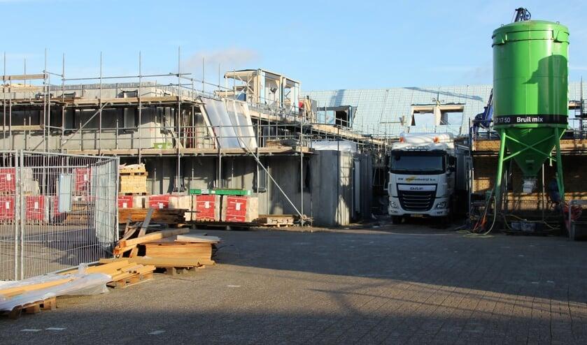 Op de planlijst woningbouw is het project op de plaats van de Northgohal bijna aan opleveren toe. | Foto: WS
