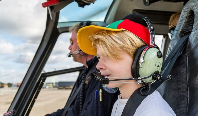 <p>Voor kinderen met handicap komt er een Helikopterdag.</p>