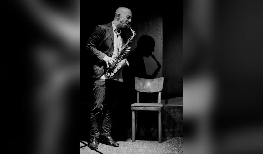 <p>De Werkgroep Jazz is spontaan ontstaan tijdens de Leidse jazzweek. | Foto Marcel Schikhof</p>