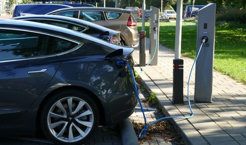 Er werd onder meer gesproken over elektrisch rijden, dat steeds populairder wordt.