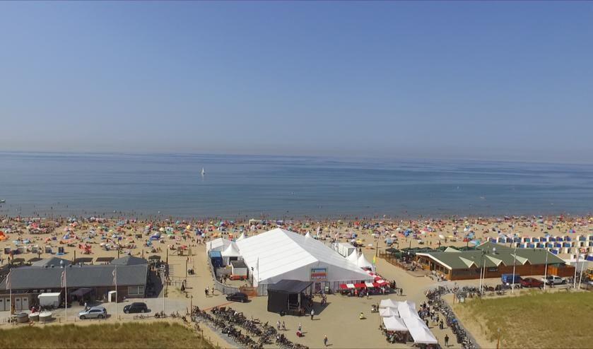<p>Van 5 t/m 14 augustus staat het Evenementenplein Katwijk aan Zee in het teken van de diverse activiteiten | Foto: PR</p>