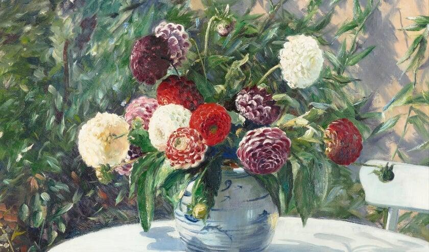 <p>Een werk van Willem Roelofs.</p>