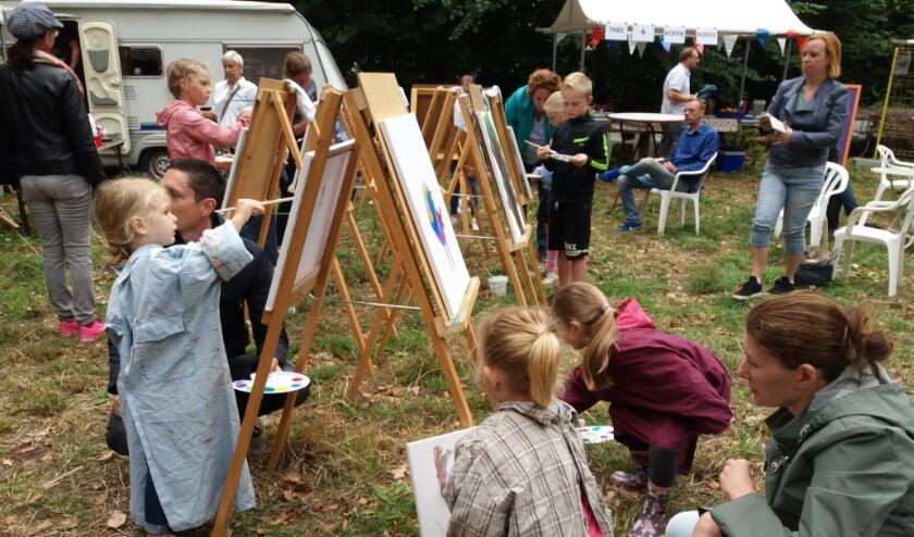 <p>De zondag is altijd voor Kunst voor Kids. | Foto: pr.</p>