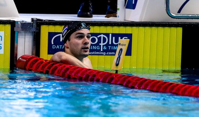 <p>Arno Kamminga eerder dit jaar bij de Europese Kampioenschappen in Boedapest.  &nbsp;</p>