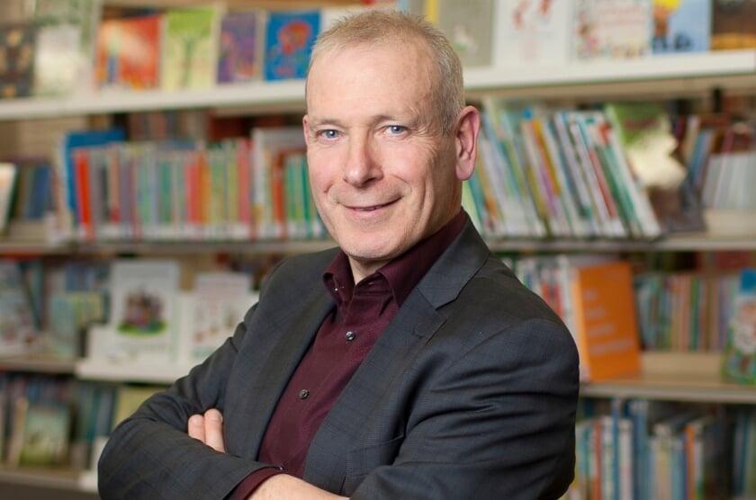 <p>Bibliotheek-directeur Hans Portengen.   </p>